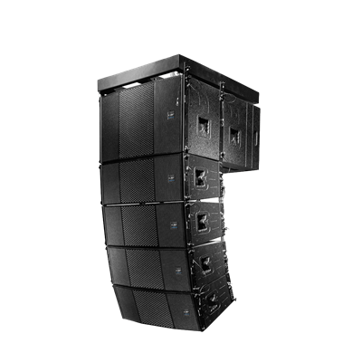 What is line array audio?