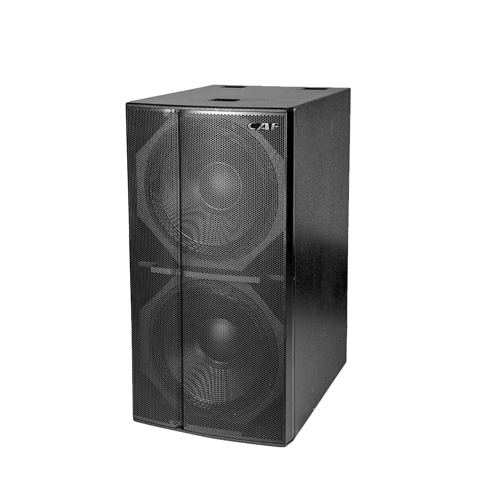 DF-218S Dual 18inch subwoofer speaker manufacturer in China
