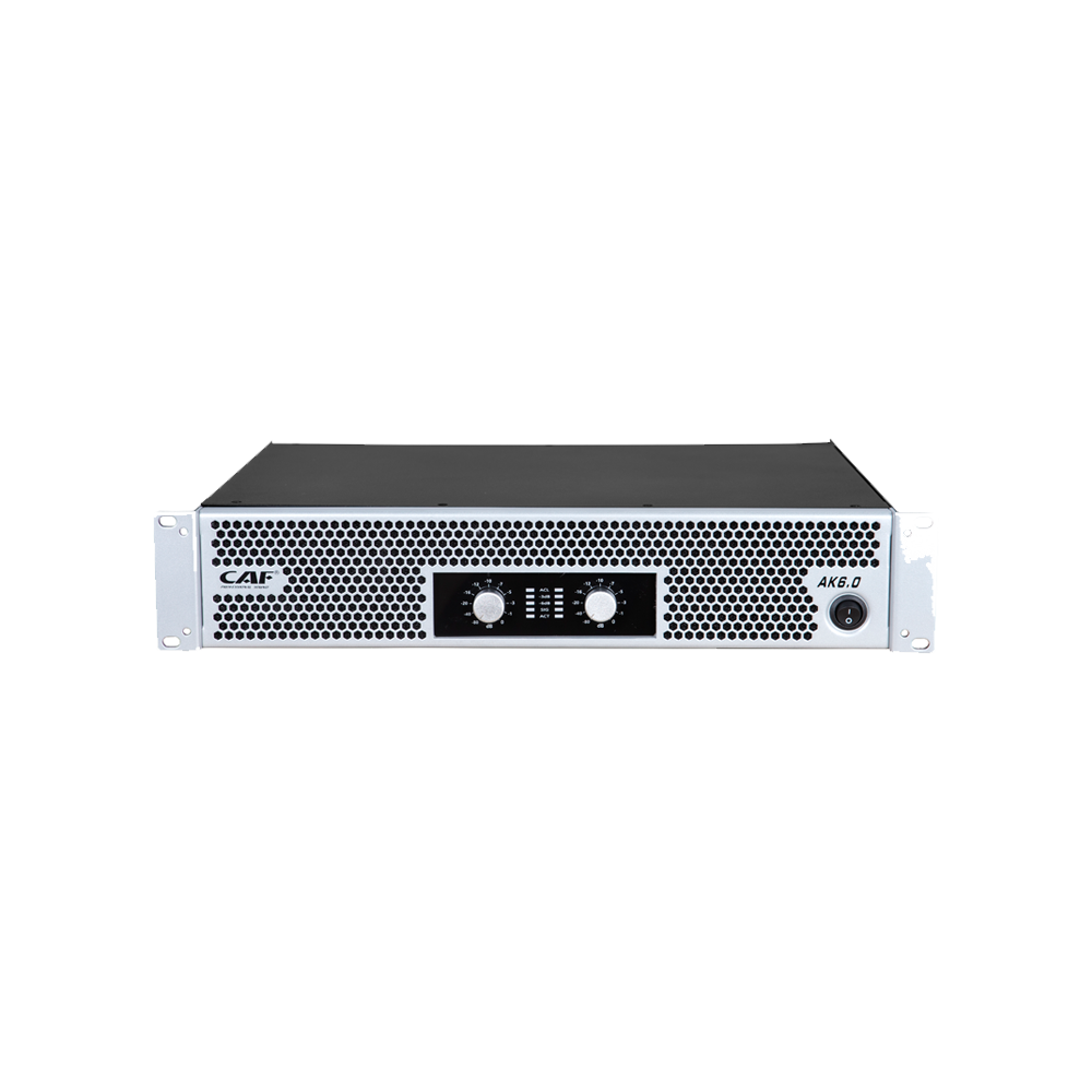 AK series 2 channel power amplifier by china