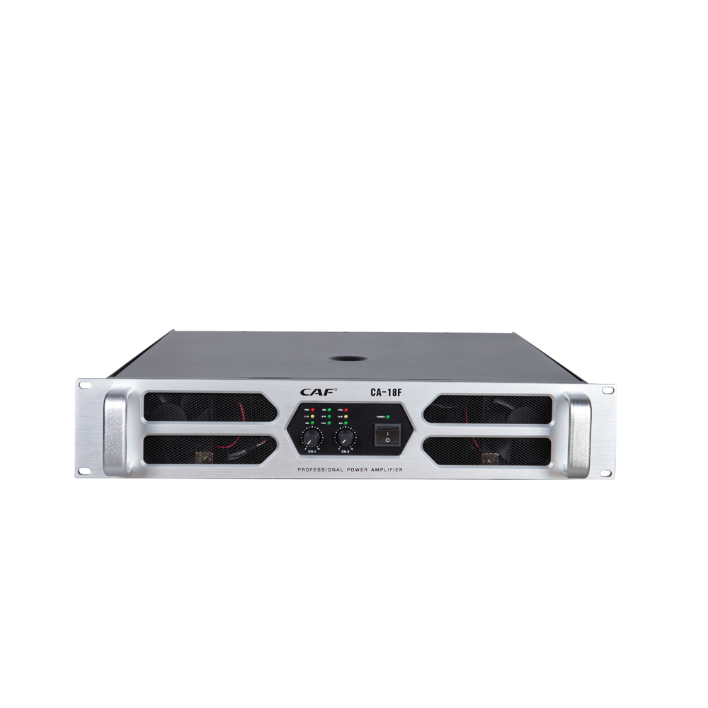 High quality CA series 2 channel power amplifier