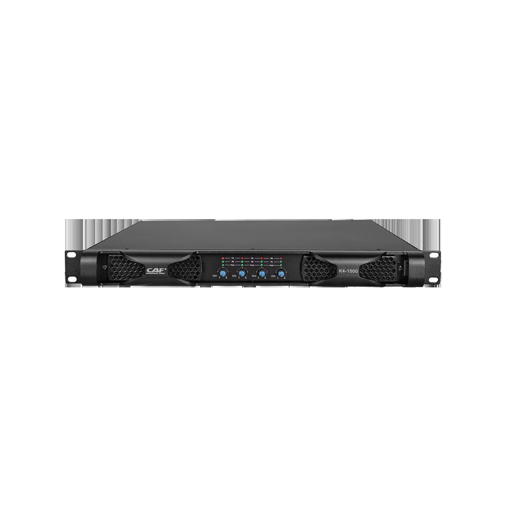 Top-quality K4-1500 4 channel power amplifier